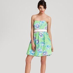 Lily Pulitzer Langley Dress Strapless